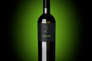 Keza Weinflasche Zilavka BG black v4
