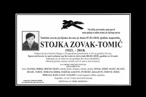 Stojka Zovak Tomic